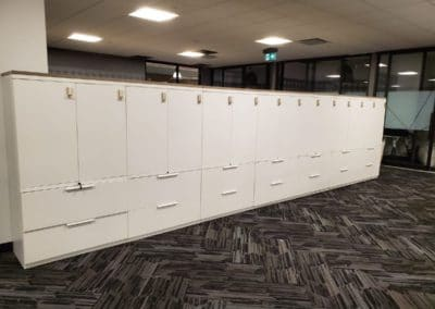 Office storage unit - option with locks and without