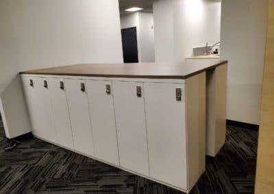 Office storage units - lockable options