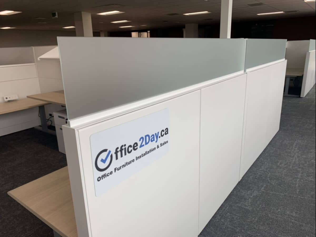 Cubicles and partitions, image 3